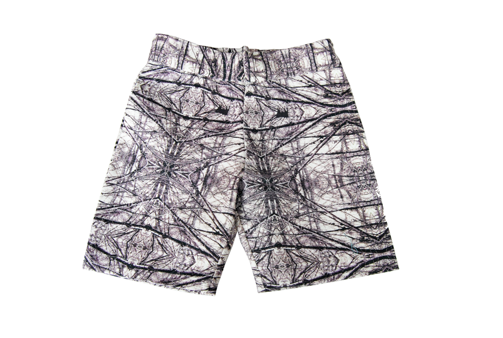chino short- Wood Charcoal