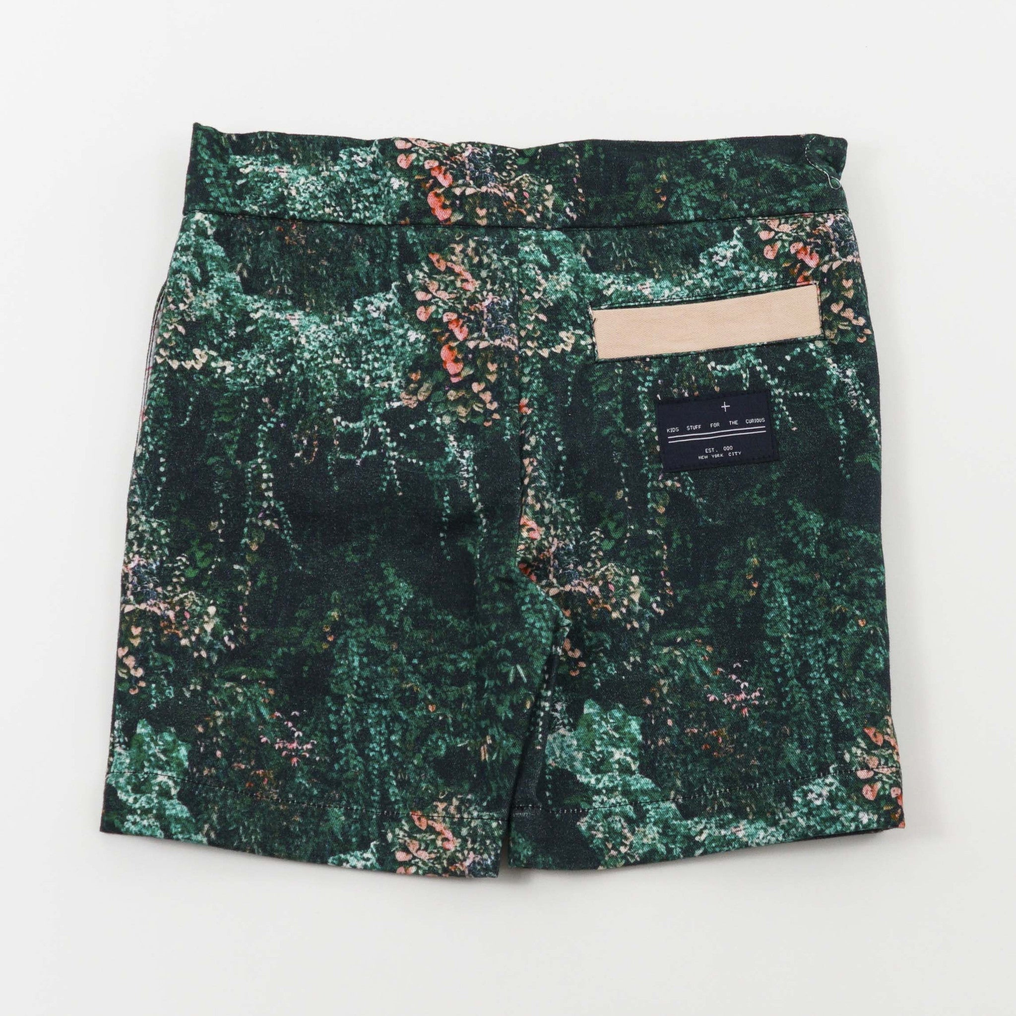 CHINO SHORT - JANGAL FOREST