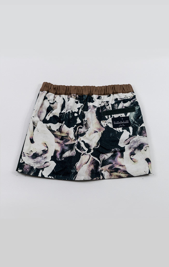 2-Way Mini Skirt - Fungi Lila