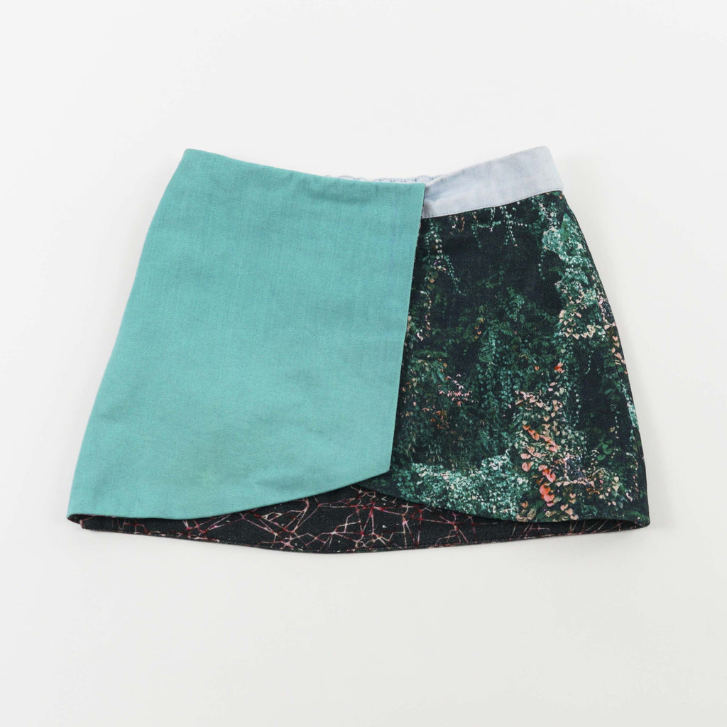 2-WAY MINI SKIRT - JANGAL FOREST