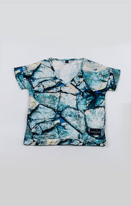 Tshirt Blouse - Hex Ice