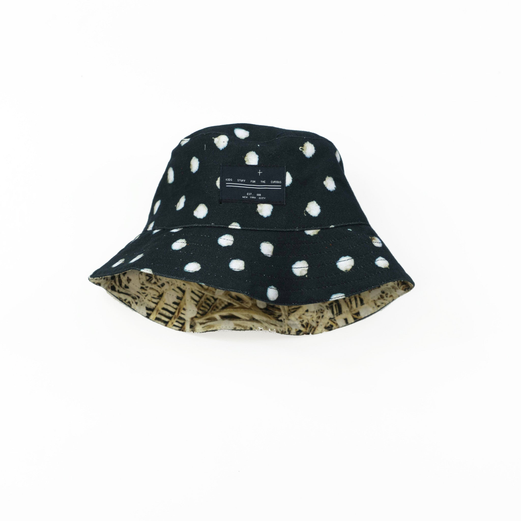 Bucket Hat - Bunny Black