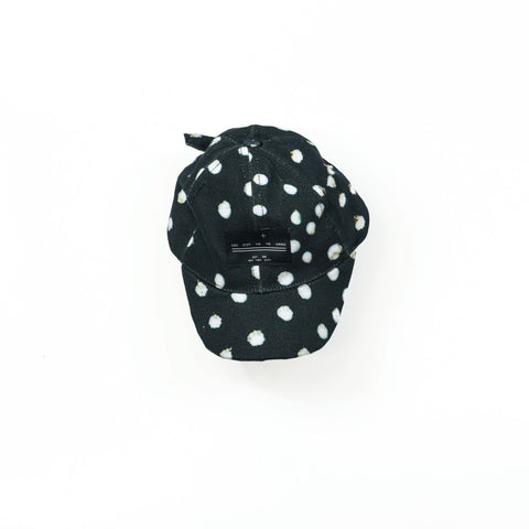 6 Panel Hat - Bunny Black
