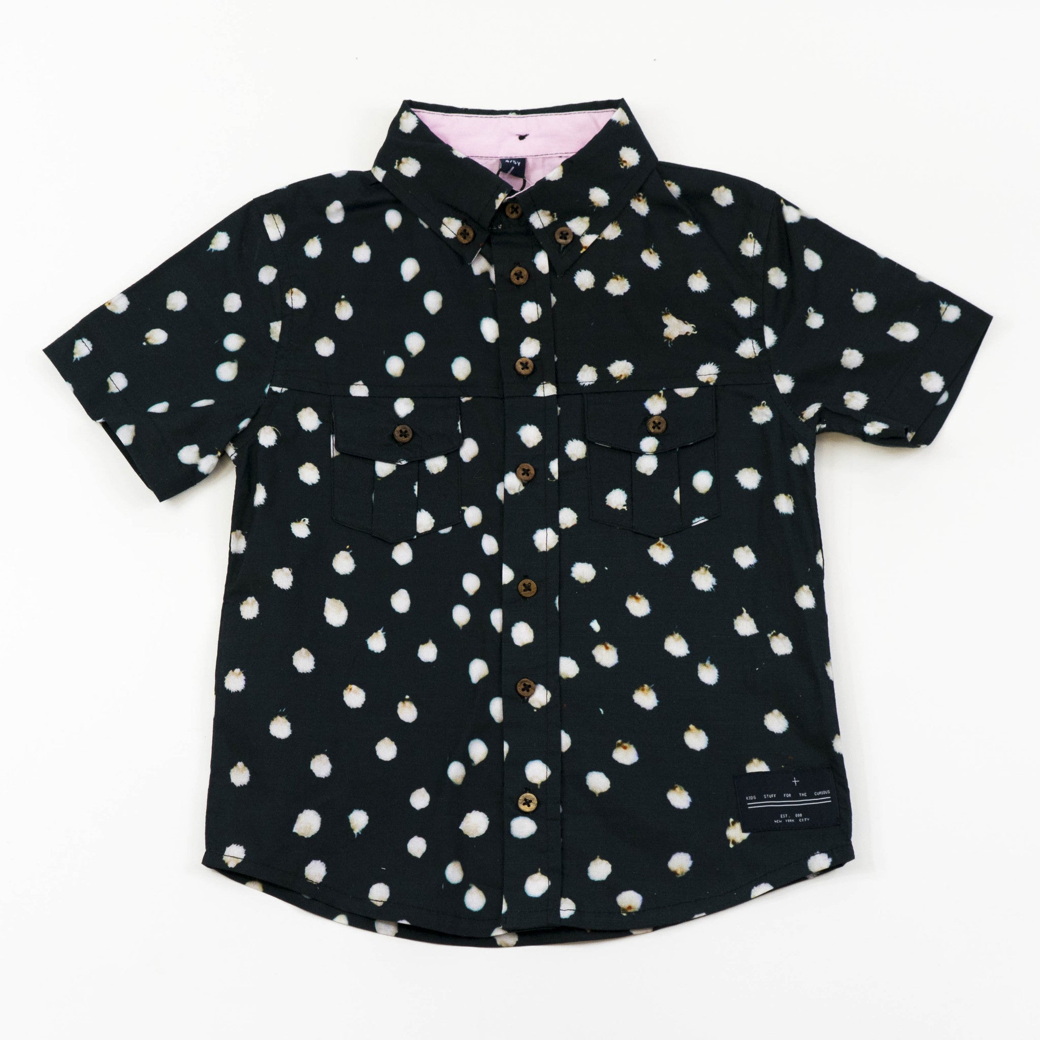 Button Down - Bunny Black