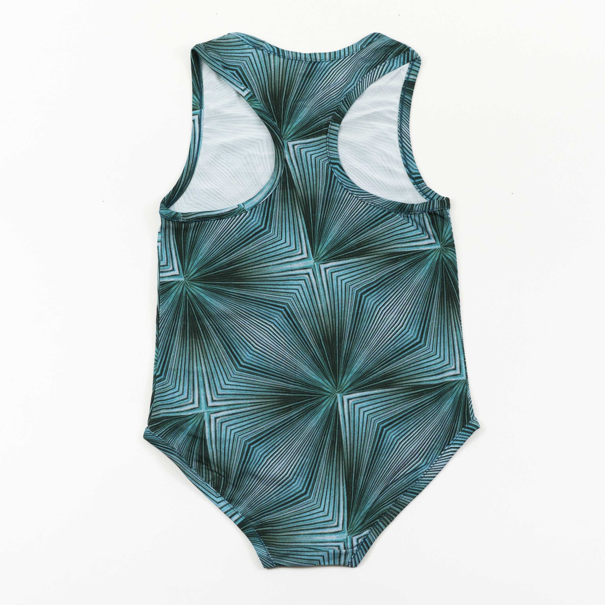 Racerback Swimsuit - Fan Violet