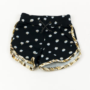 Runners Short - Bunny Black