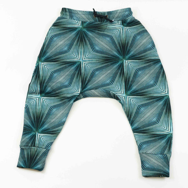 Drop Crotch Sweatpant - Fan Violet