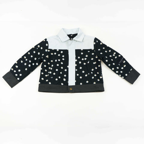 Trucker Jacket - Bunny Black