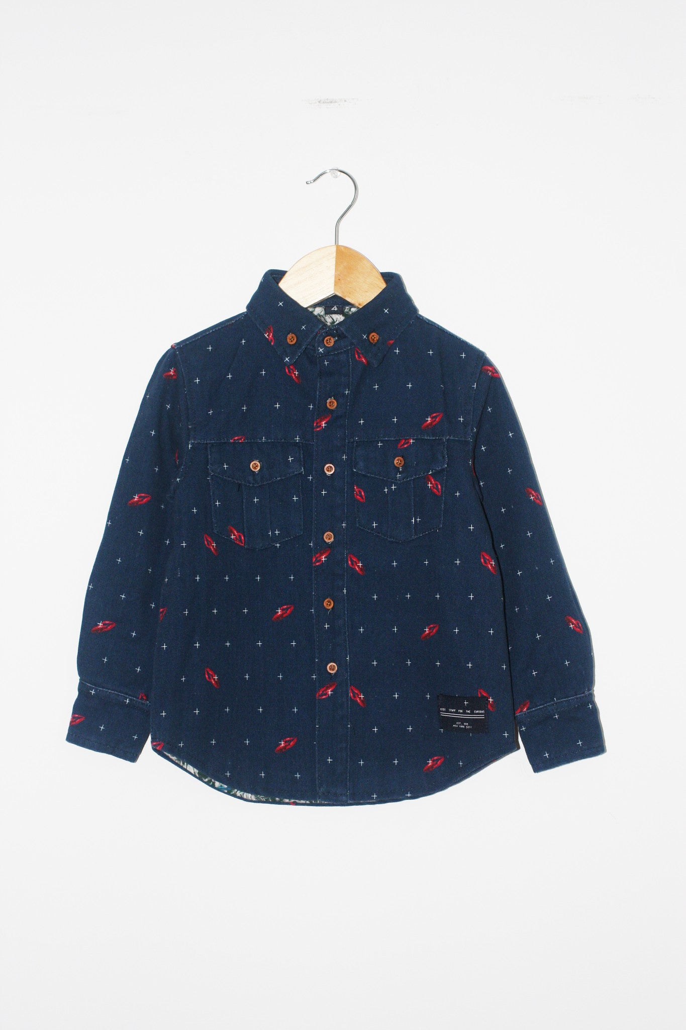 Workshirt - Lobster Navy