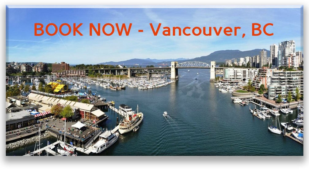 Image of Vancouver water and city view