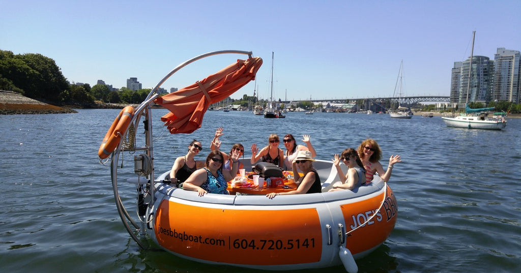 Joe S Bbq Boat Rentals An Incredible Bbq Boat Dining Experience