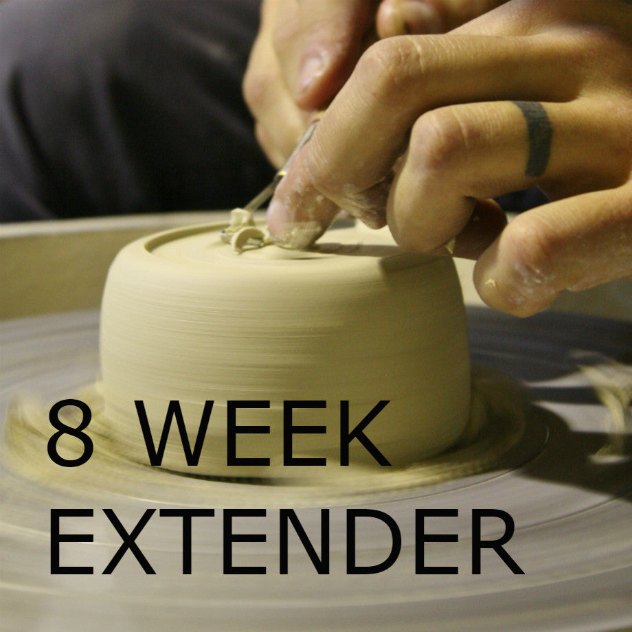 EIGHT WEEK Wednesday Extender Wheel Throwing Course