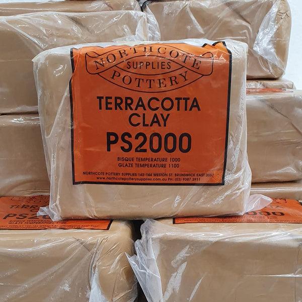 PS2000 - Northcote Pottery Terracotta Clay 10kg
