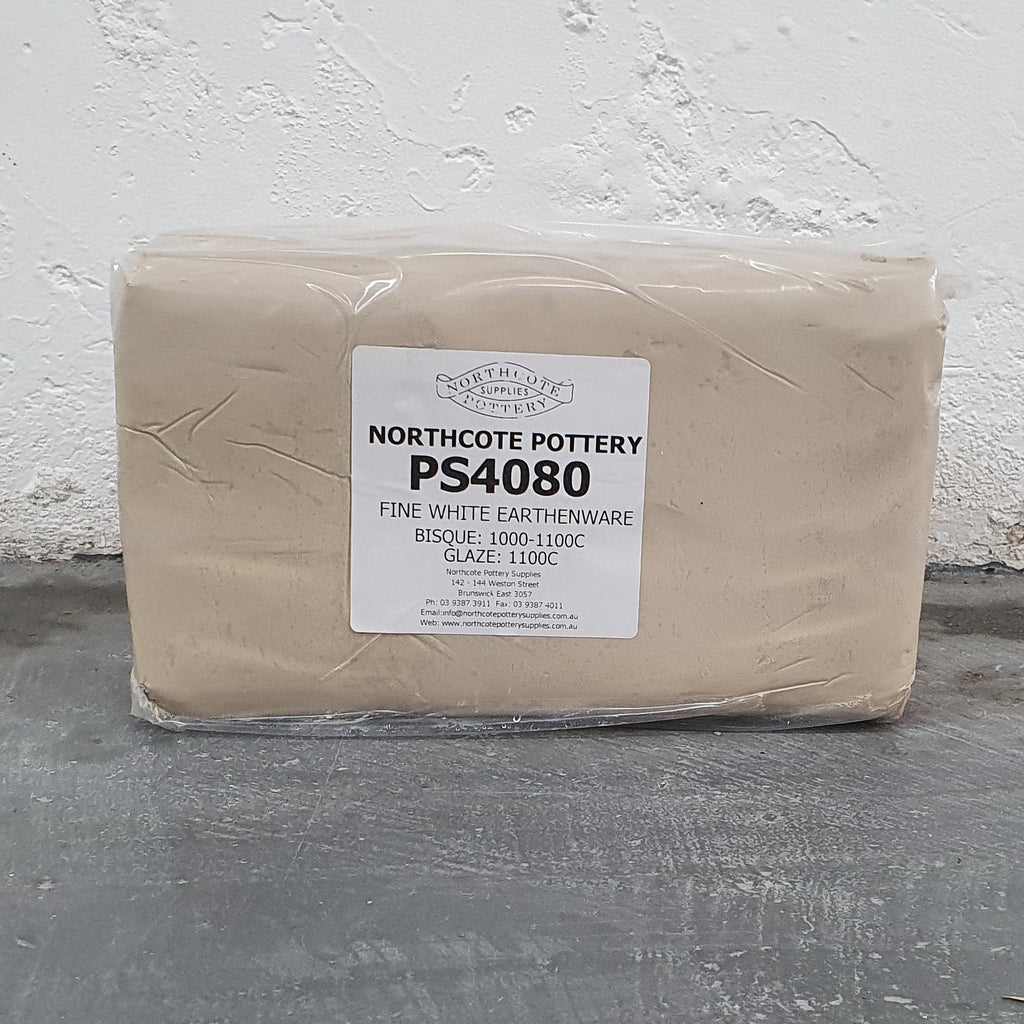 PS4080 - Fine White Earthenware Clay - 10kg