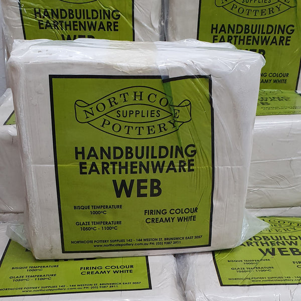 WEB - Northcote Pottery Handbuilding Clay 10kg
