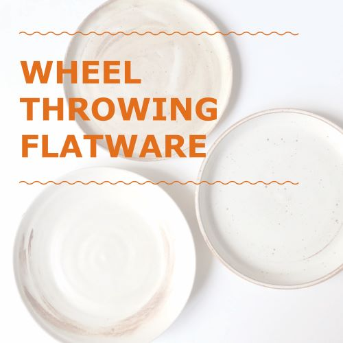 FOUR Week Intensive: Wheel Throwing Flatware Course
