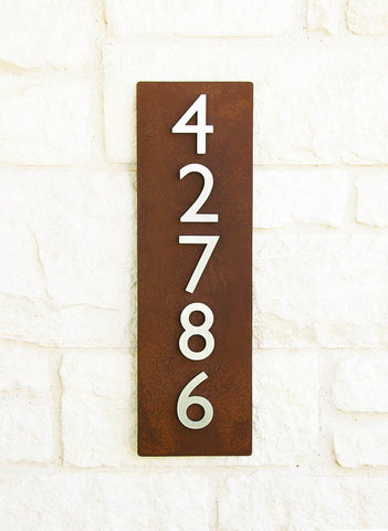 Cinco Address Plaque (26