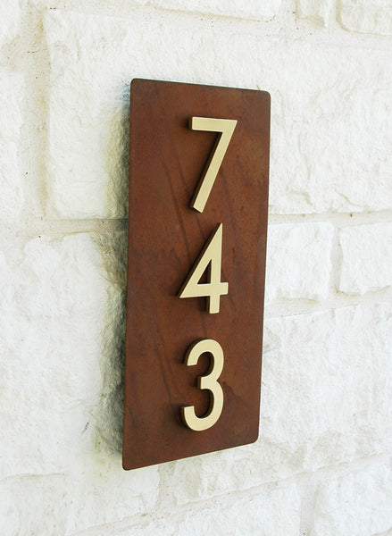 Home Sweet Home Address Plaque 16 Quot H X 8 Quot W With Silver