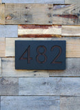 "Prime Real Estate Address Plaque (8""H x 14""W)"