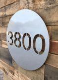 On The Dot Address Plaque