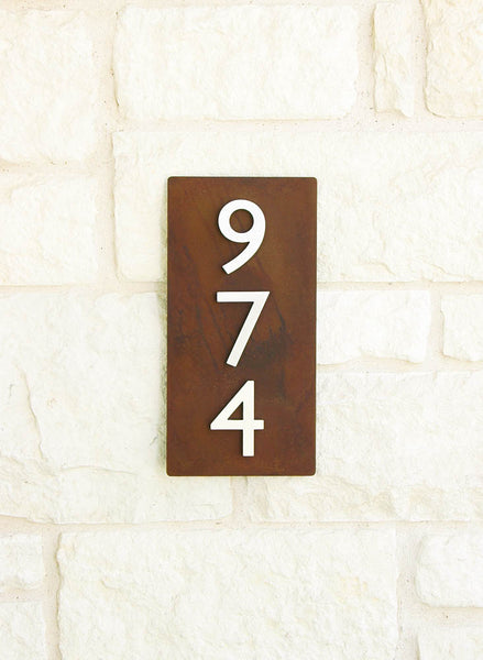 "Home Sweet Home Address Plaque (16""H x 8""W)"