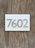 "First Impression Address Plaque (8""H x 12""W)"