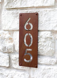 "Windsor Park Address Plaque (6""W x 16""H)"