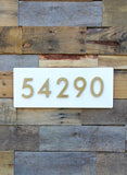 "Welcome Home Address Plaque (20""W x 8""H)"