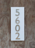 "Curb Appeal Address Plaque (20""H x 8""W)"