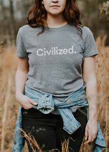 Civilized Original Ladies Tee – Fall 2017 Edition