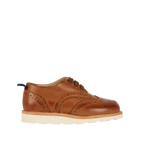 Brando Brogue Burnished Tan