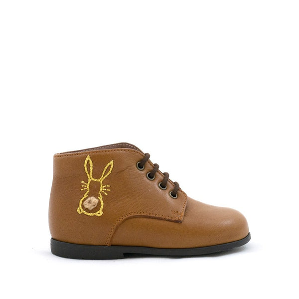 Tan Leather Bunny Boot