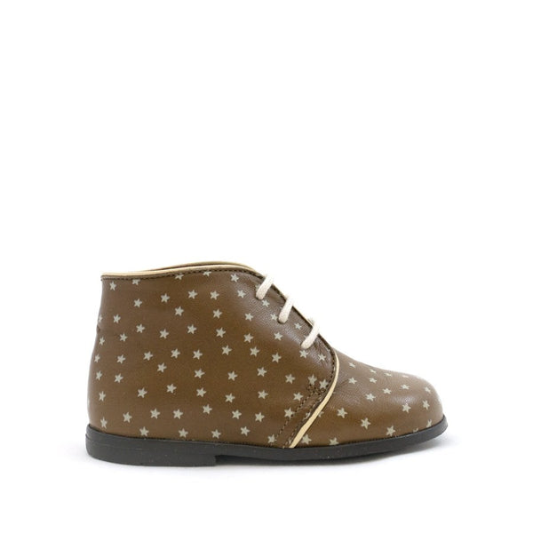 Taupe Classic Boot With Stars