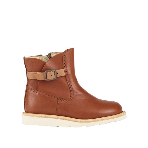 Vera Chestnut Brown Ankle Boot