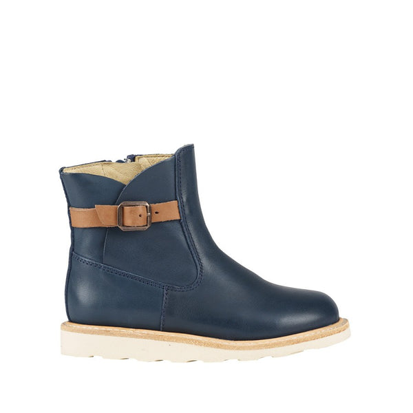 Vera Navy Ankle Boot