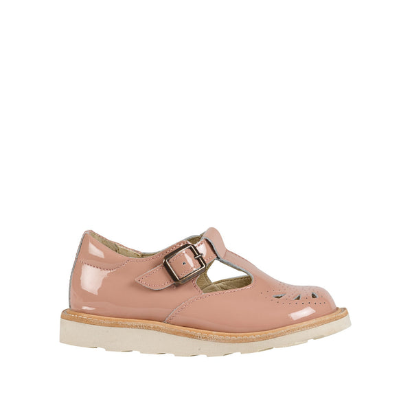 Rosie T-bar Blush Pink Patent