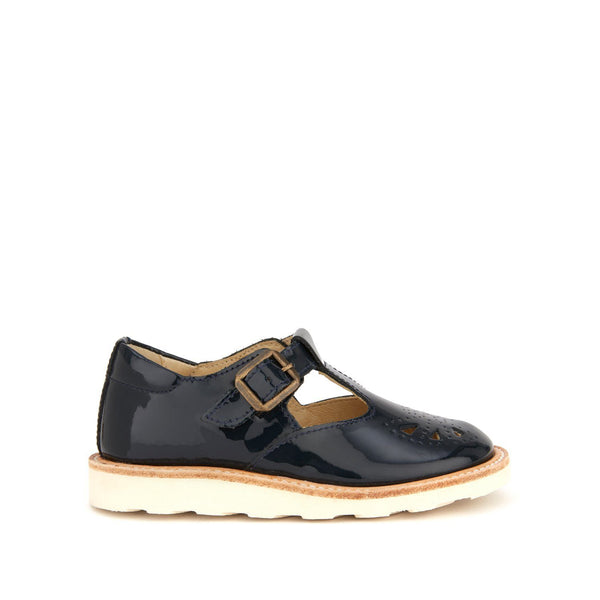 Rosie T-bar Patent Navy