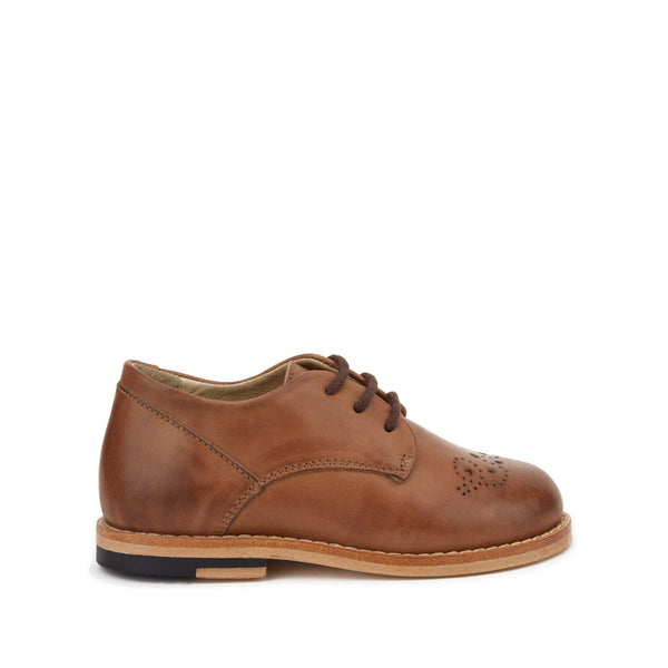 Bobby Burnished Tan Derby