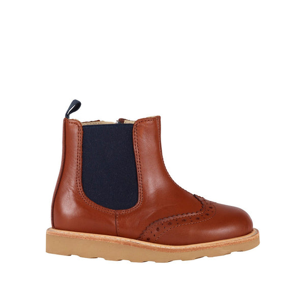 Francis Chestnut Brown Chelsea Boot