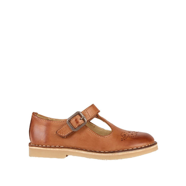 Penny T-bar Burnished Tan