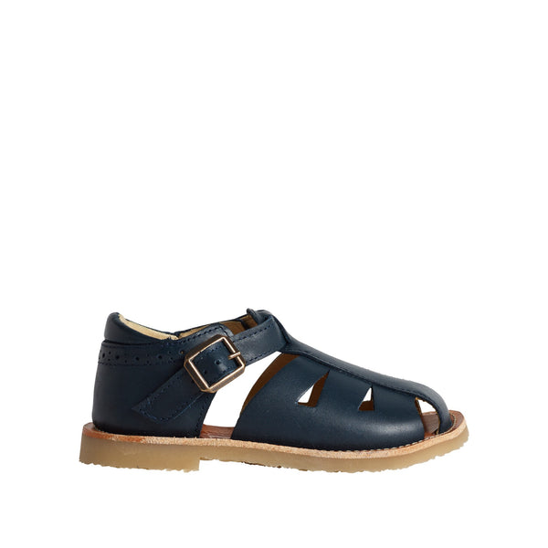 Frankie Fishermans Navy Sandal