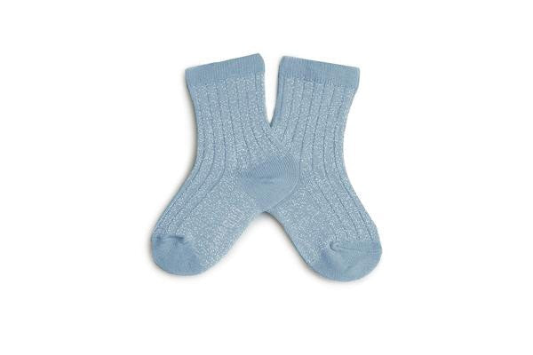 Brillantes Ankle socks - Zinc