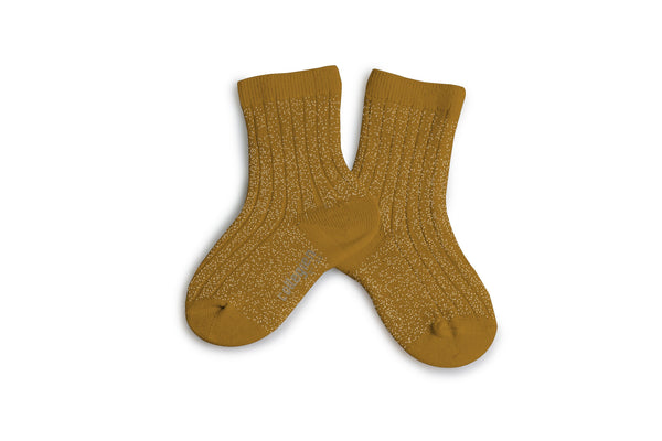 Brillantes Ankle socks - Moutarde de Dijion