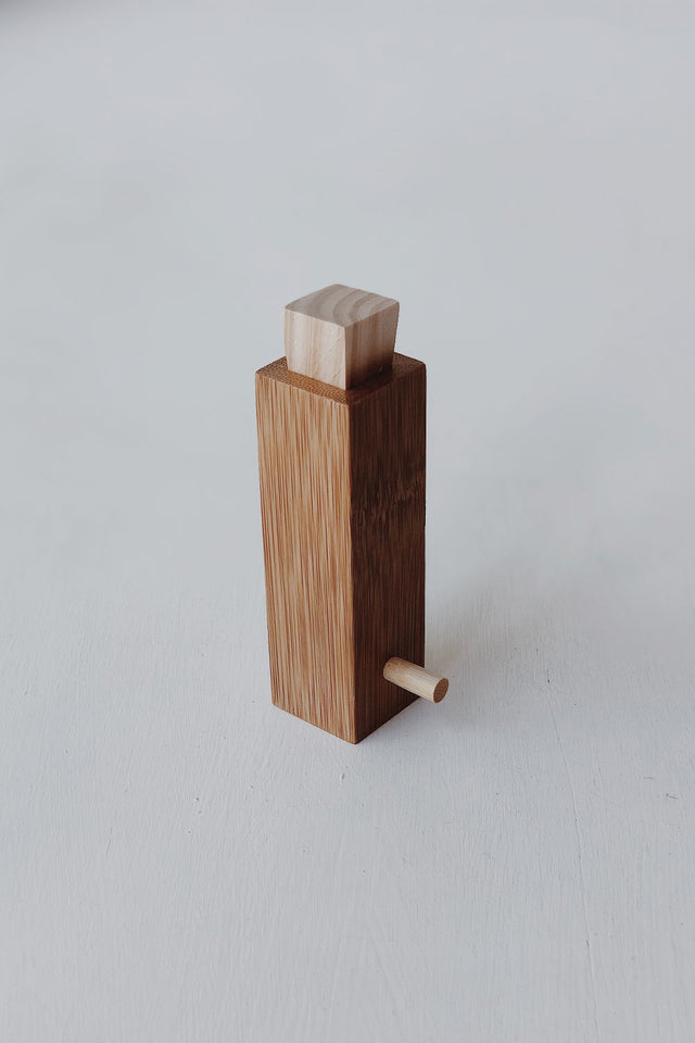 Bamboo Spice Holder