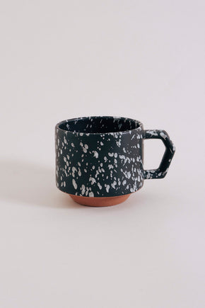 Chips Stacking Mug - Speckled Black