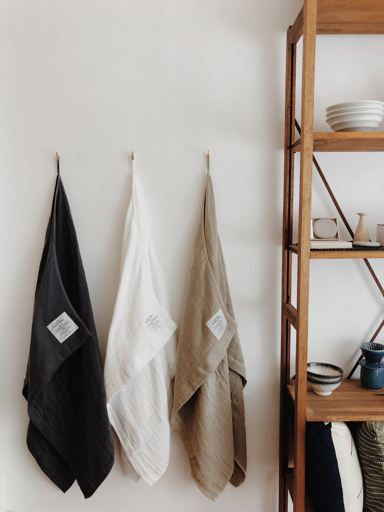 Shinto 2.5 Gauze Towel/Throw - Navy