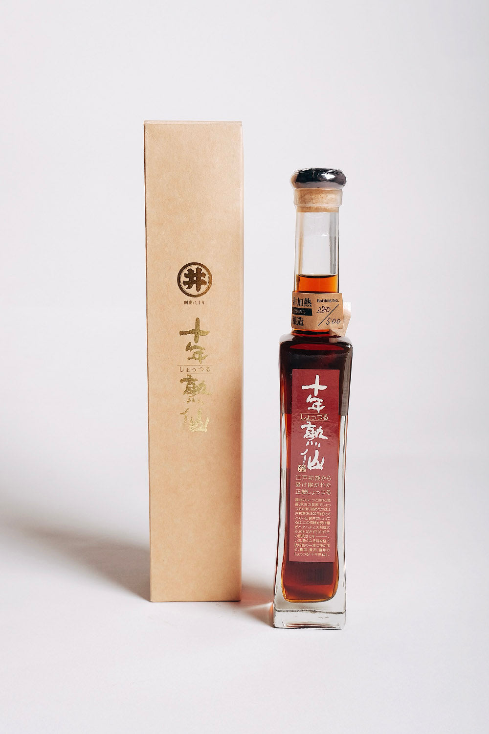 10+ Year Old Japanese Fish Sauce