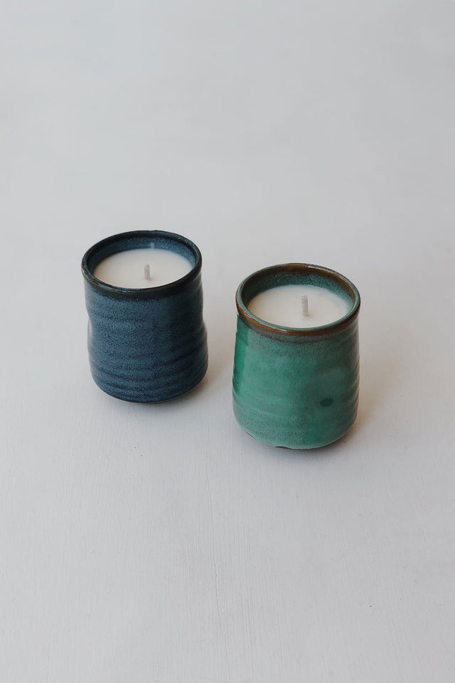 Japanese Kadoma Candle - Mint
