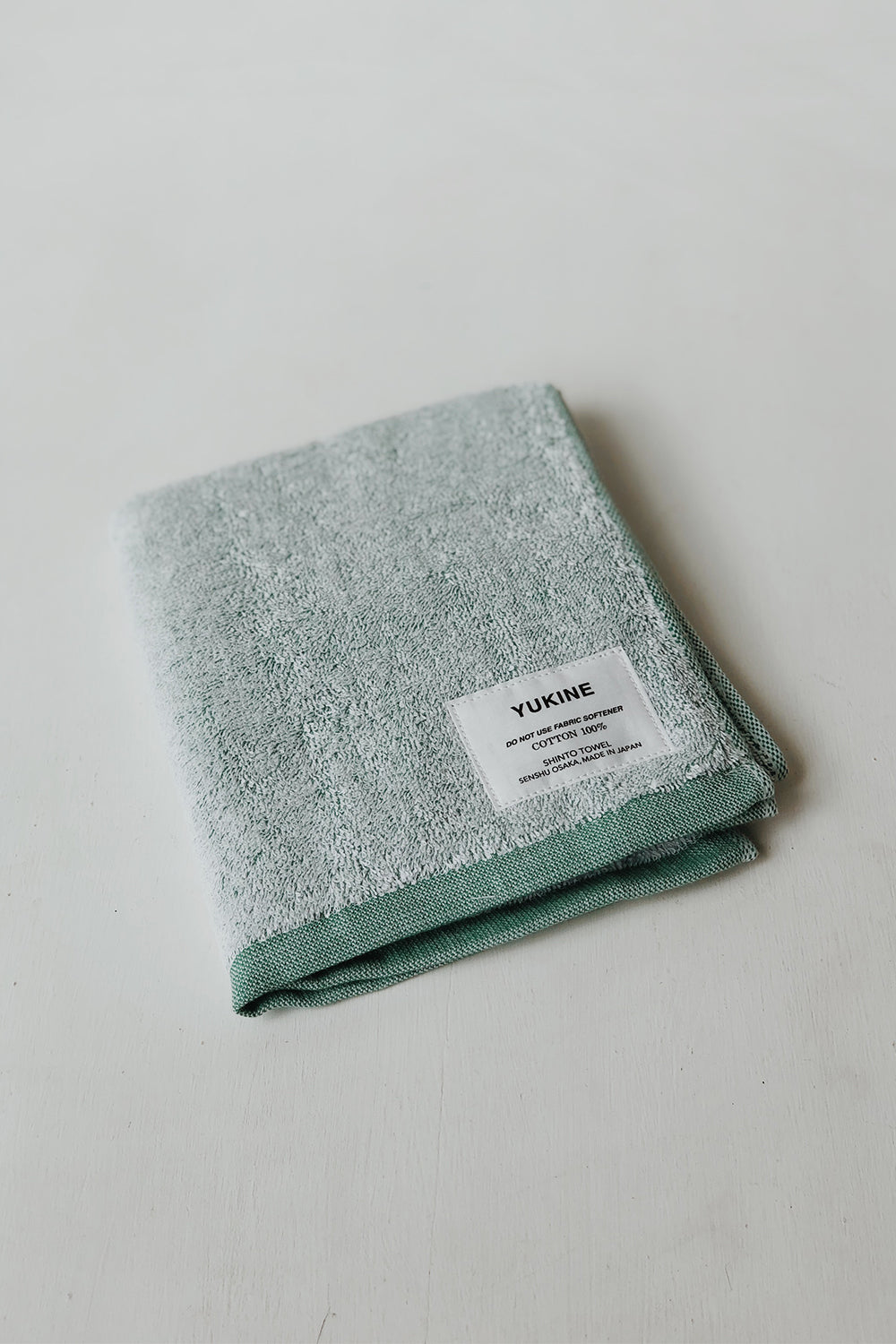 Shinto Yukine Face Towel - Mint