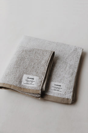 Organic Cotton Shinto Yukine Towel - Mustard